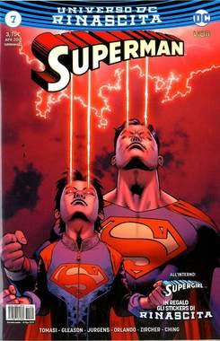 Copertina SUPERMAN n.7 - SUPERMAN, RW LION