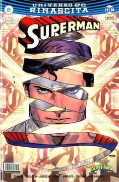 Copertina SUPERMAN n.8 - SUPERMAN, RW LION