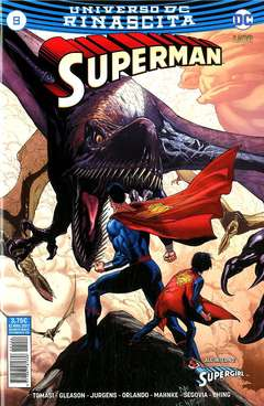 Copertina SUPERMAN n.9 - SUPERMAN, RW LION