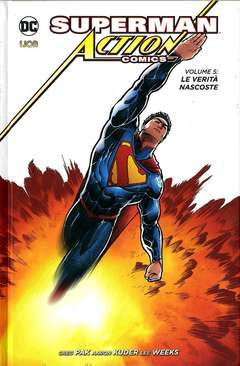 Copertina SUPERMAN ACTION COMICS n.5 - LE VERITA' NASCOSTE, RW LION