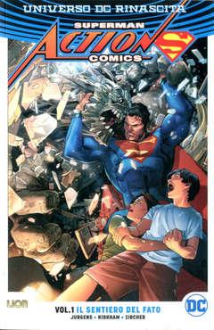 Copertina SUPERMAN ACTION COMICS Reb.Br. n.1 - IL SENTIERO DEL FATO, RW LION
