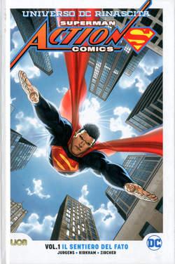 Copertina SUPERMAN ACTION COMICS Rebirth n.1 - IL SENTIERO DEL FATO, RW LION