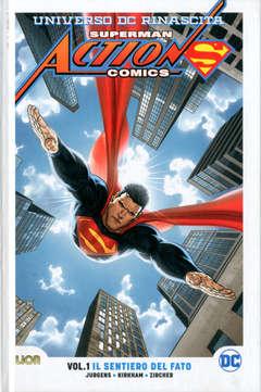 Copertina SUPERMAN ACTION COMICS Rebirth Ultralimited n.1 - IL SENTIERO DEL FATO, RW LION