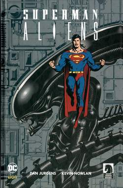 Copertina SUPERMAN/ALIENS L'INTEGRALE n. - SUPERMAN/ALIENS - L'INTEGRALE, RW LION