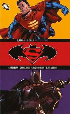 Copertina SUPERMAN/BATMAN SIGNORI... n. - SUPERMAN/BATMAN: SIGNORI DELLA MAGIA, RW LION