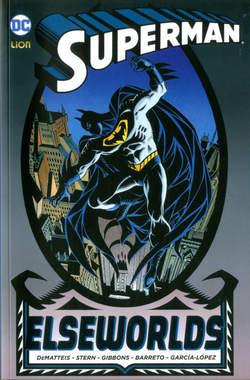 Copertina SUPERMAN ELSEWORDS Book n. - SUPERMAN ELSEWORDS, RW LION
