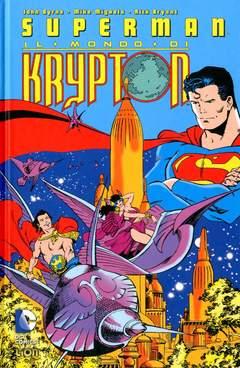Copertina SUPERMAN IL MONDO DI KRYPTON n. - IL MONDO DI KRYPTON, RW LION