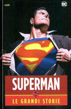 Copertina SUPERMAN LE GRANDI STORIE n. - SUPERMAN - LE GRANDI STORIE, RW LION