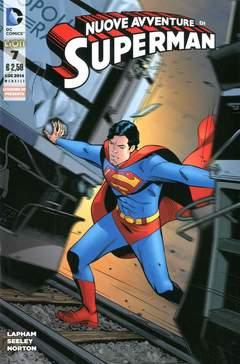 Copertina SUPERMAN LE NUOVE AVVENTURE... n.7 - LE NUOVE AVVENTURE DI SUPERMAN, RW LION