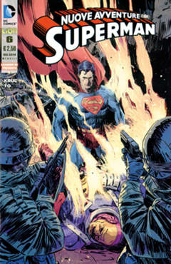 Copertina SUPERMAN LE NUOVE AVVENTURE... n.6 - LE NUOVE AVVENTURE DI SUPERMAN, RW LION