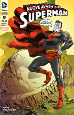Copertina SUPERMAN LE NUOVE AVVENTURE... n.9 - LE NUOVE AVVENTURE DI SUPERMAN, RW LION