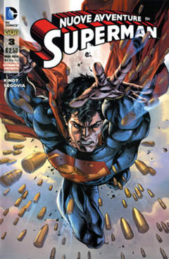 Copertina SUPERMAN LE NUOVE AVVENTURE... n.3 - SUPERMAN: LE NUOVE AVVENTURE DELL'UOMO D'ACCIAIO, RW LION