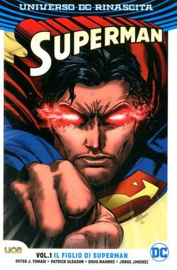 Copertina SUPERMAN Rebirth Collection n.1 - IL FIGLIO DI SUPERMAN, RW LION