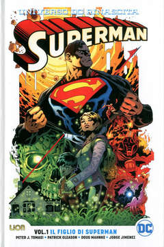 Copertina SUPERMAN Rebirth Ultralimited n.1 - IL FIGLIO DI SUPERMAN, RW LION