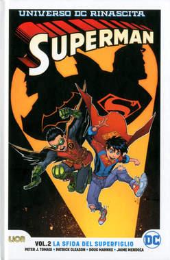 Copertina SUPERMAN Rebirth Ultralimited n.2 - LA SFIDA DEI SUPERFIGLI, RW LION