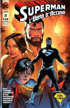 Copertina SUPERMAN L'UOMO...#27 Variant n. - Variant LOIS & CLARK, RW LION