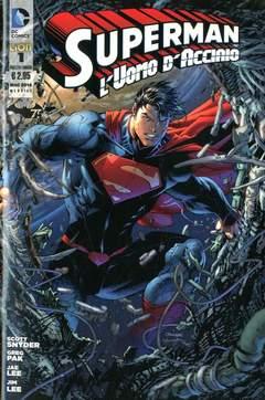 Copertina SUPERMAN L'UOMO D'ACCIAIO n.1 - SUPERMAN L'UOMO D'ACCIAIO, RW LION
