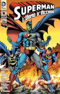Copertina SUPERMAN L'UOMO...#6 Variant n. - BATMAN 75 ANNI Variant, RW LION