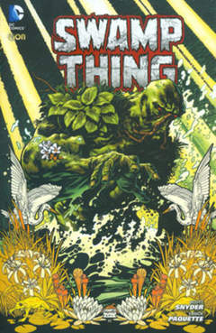 Copertina SWAMP THING n.1 - SWAMP THING, RW LION