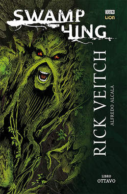 Copertina SWAMP THING Volume n.8 - SWAMP THING, RW LION
