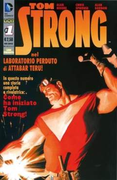 Copertina TOM STRONG (m11) n.1 - TOM STRONG - Prima serie, RW LION