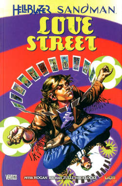 Copertina VERTIGO CLASSIC n.64 - HELLBLAZER SANDMAN: LOVE STREET, RW LION