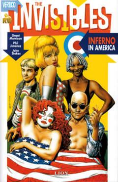 Copertina VERTIGO CLASSIC n.2 - INFERNO IN AMERICA, RW LION