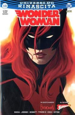 Copertina WONDER WOMAN #19 Variant Cover n. - Variant BATWOMAN, RW LION