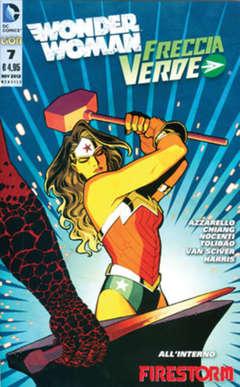 Copertina WONDER WOMAN 2012 n.7 - WONDER WOMAN/FRECCIA VERDE, RW LION