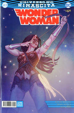 Copertina WONDER WOMAN n.23 - WONDER WOMAN, RW LION