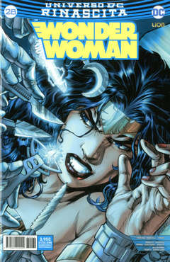 Copertina WONDER WOMAN n.28 - WONDER WOMAN, RW LION