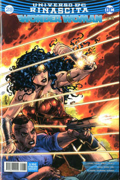 Copertina WONDER WOMAN n.29 - WONDER WOMAN, RW LION