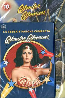 Copertina WONDER WOMAN '77 (DVD+Fumetto) n.10 - WONDER WOMAN '77, RW LION