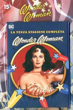 Copertina WONDER WOMAN '77 (DVD+Fumetto) n.15 - WONDER WOMAN '77, RW LION