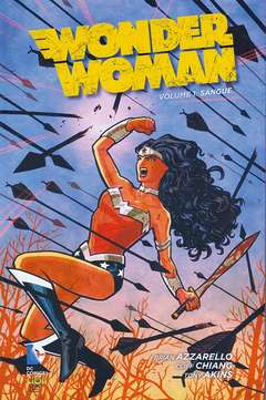 Copertina WONDER WOMAN New 52 n.1 - SANGUE ristampa, RW LION