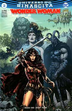 Copertina WONDER WOMAN n.2 - WONDER WOMAN, RW LION