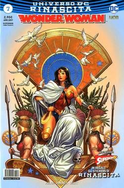 Copertina WONDER WOMAN n.7 - WONDER WOMAN, RW LION