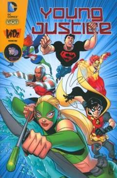 Copertina YOUNG JUSTICE n.1 - YOUNG JUSTICE, RW LION