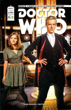 Copertina DOCTOR WHO n.1 - DOCTOR WHO, RW REAL WORLD