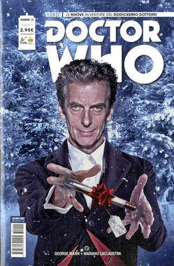 Copertina DOCTOR WHO n.12 - DOCTOR WHO, RW REAL WORLD