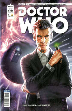 Copertina DOCTOR WHO n.15 - DOCTOR WHO, RW REAL WORLD