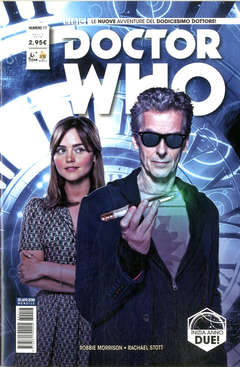 Copertina DOCTOR WHO n.17 - DOCTOR WHO, RW REAL WORLD