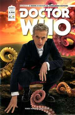 Copertina DOCTOR WHO n.2 - DOCTOR WHO, RW REAL WORLD