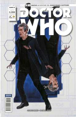 Copertina DOCTOR WHO n.25 - DOCTOR WHO, RW REAL WORLD