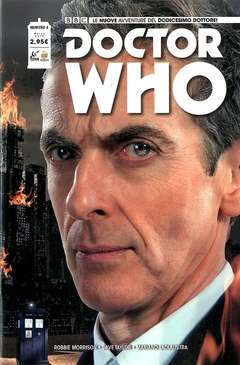 Copertina DOCTOR WHO n.4 - DOCTOR WHO, RW REAL WORLD