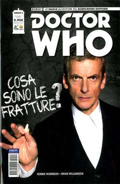 Copertina DOCTOR WHO n.6 - DOCTOR WHO, RW REAL WORLD