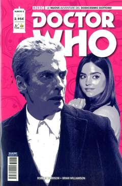 Copertina DOCTOR WHO n.8 - DOCTOR WHO, RW REAL WORLD