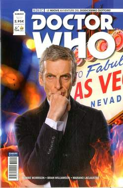 Copertina DOCTOR WHO n.9 - DOCTOR WHO, RW REAL WORLD