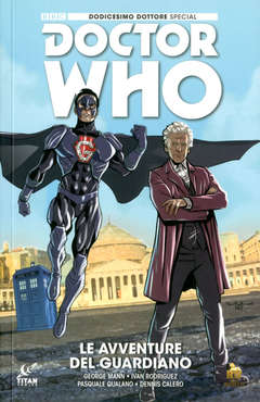 Copertina DOCTOR WHO DODICESIMO...Sp.Var n. - IL GUARDIANO - Special Variant Cover, RW REAL WORLD