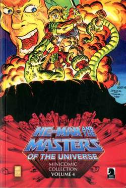 Copertina HE-MAN AND THE...MINICOMIC n.4 - HE-MAN AND THE MASTERS OF THE UNIVERSE MINICOMIC, RW REAL WORLD